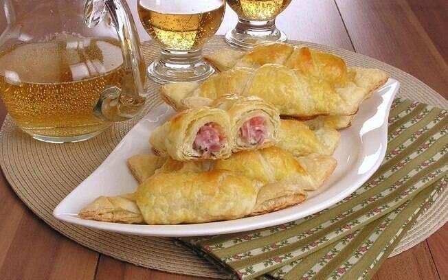 Croissant com salame: receita prática para o café da tarde