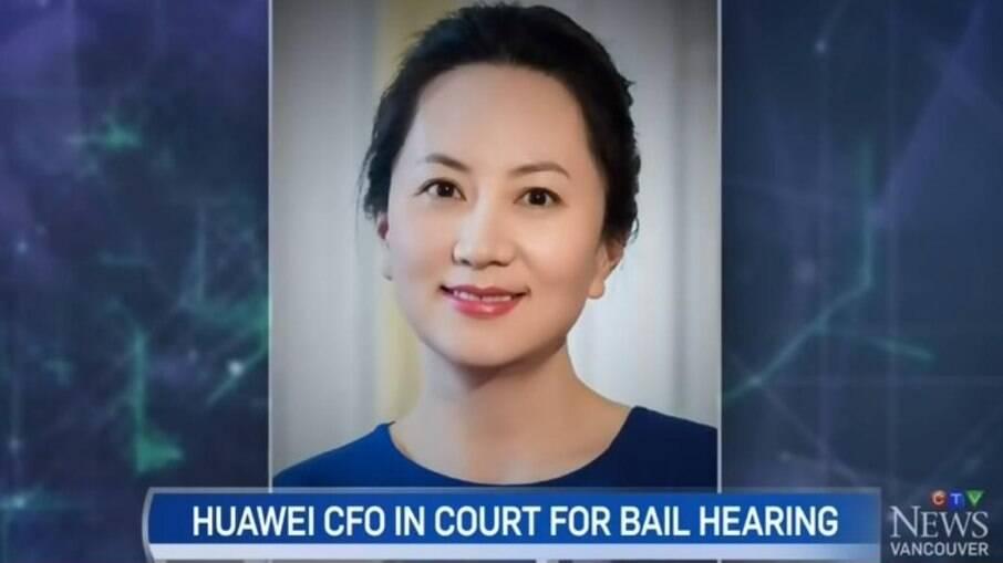 Executiva Meng Wanzhou foi presa no Canadá