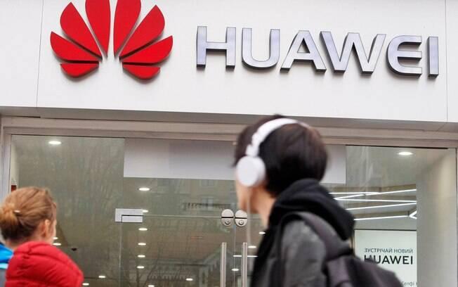 Huawei bem sendo banida nas redes 5G