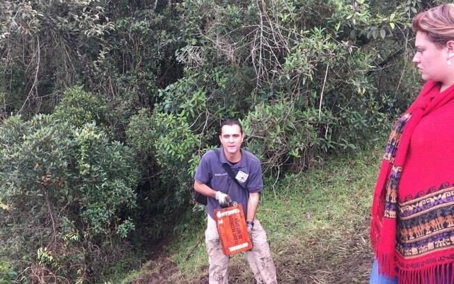 Caixa-preta do avião que levava a delegação da Chapecoense, jornalistas e tripulantes foi encontrada