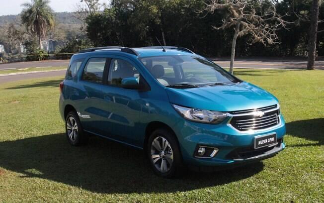 Chevrolet Spin 2019: a cor de lançamento chama-se
