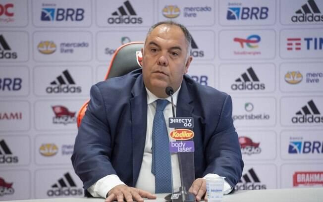 Marcos Braz, vice-presidente de futebol do Flamengo