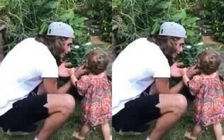 Bebê à vista! Tatá Werneck mostra Rafael Vitti treinando para ser pai