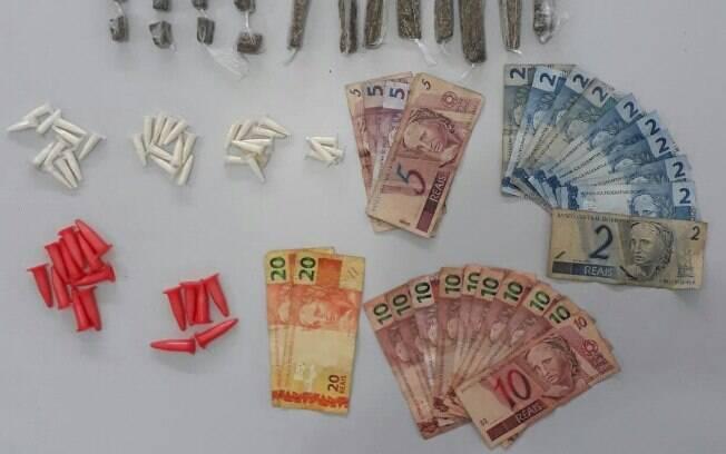 ROCAM apreendeu dois adolescentes em posse de drogas e dinheiro do tráfico na zona leste de São Paulo