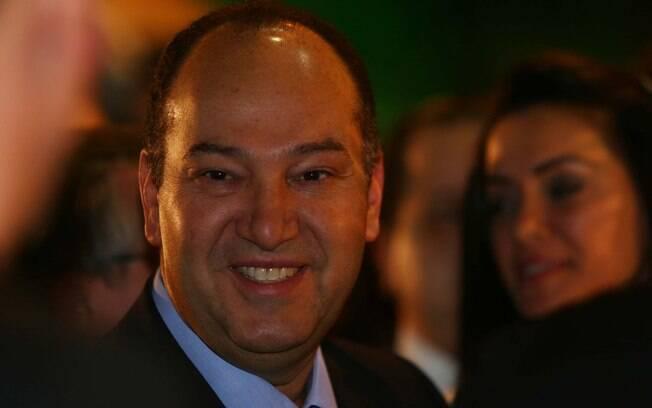 Pastor Everaldo durante as eleições presidenciais de 2014