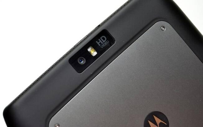 Câmera do Xoom 2 Media Edition tem sensor de 5 megapixels