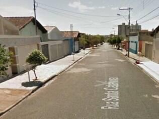 Crime aconteceu nesta rua