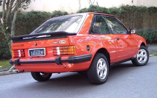 Ford Escort XR3 da primeira geração foi um dos modelos que fizeram história no Brasil em meados dos anos 80