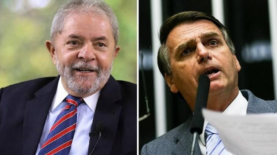 Eventual disputa indica vitória de Lula (PT) sobre Jair Bolsonaro (sem partido) em 2022