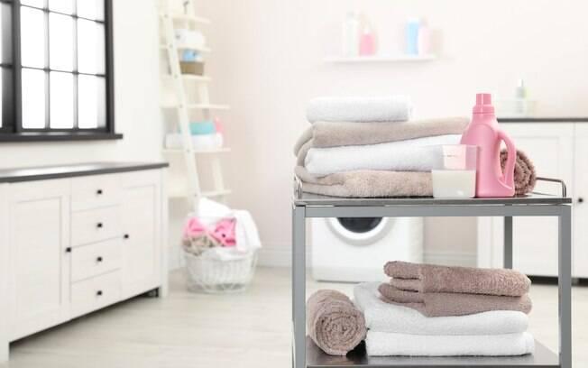 Uso de amaciante é bem-vindo nas lavagens, mas é preciso cautela ao usá-lo, uma vez que pode prejudicar a secagem