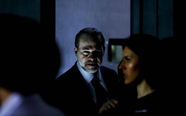 Após sessão, presidente do STF conversou com jornalistas e falou sobre decisão