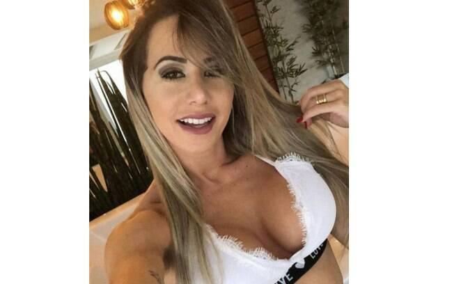 Bia Fortunato, musa do Flamengo