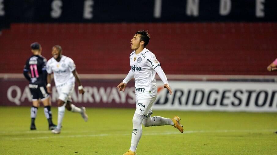 Palmeiras vence o Del Valle com gol de Raphael Veiga