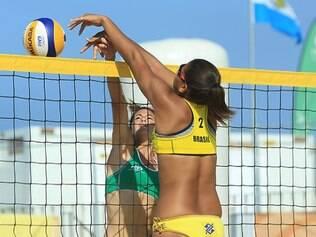 Ana Patrícia conseguiu uma ótima posição no Mundial de vôlei de praia