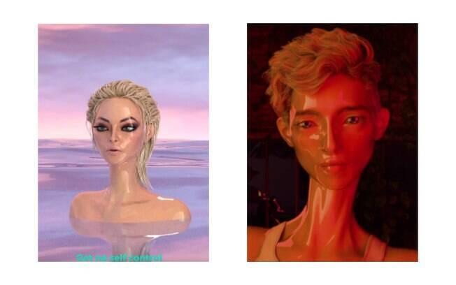 À esquerda, vídeo de Bebe Rexha produzido por Ebeyer. À direita, vídeo de Troye Sivan totalmente produzido por Jason