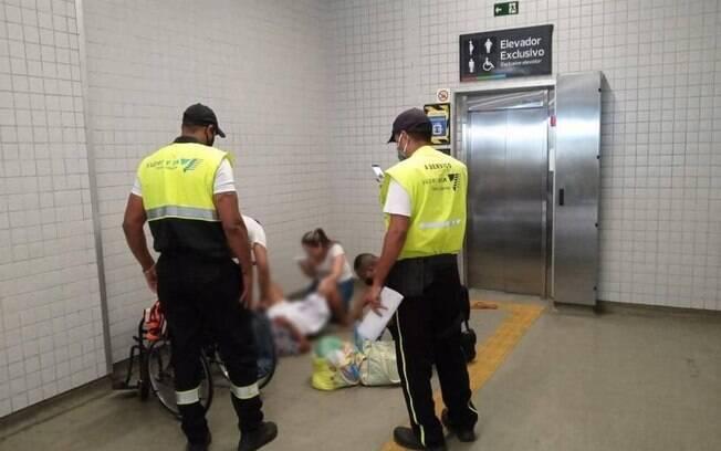 Mulher deu à Luz em estação de trem de  Deodoro