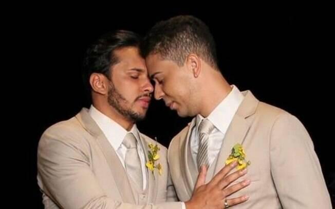Carlinhos Maia e seu marido