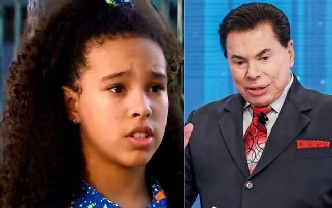 Júlia Olliver ouviu um comentário considerado racista de Silvio Santos
