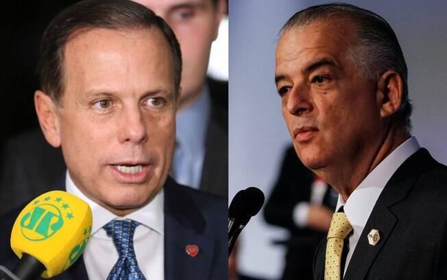 Candidatos a governador de São Paulo, João Doria (PSDB) e Márcio França (PSB), participaram de debate na Band