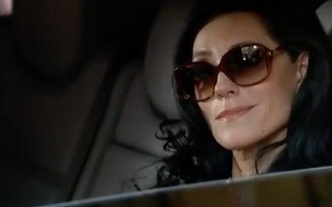 Tereza Cristina na última cena de