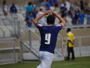 Damião fez gol em jogada que é uma de suas marcas