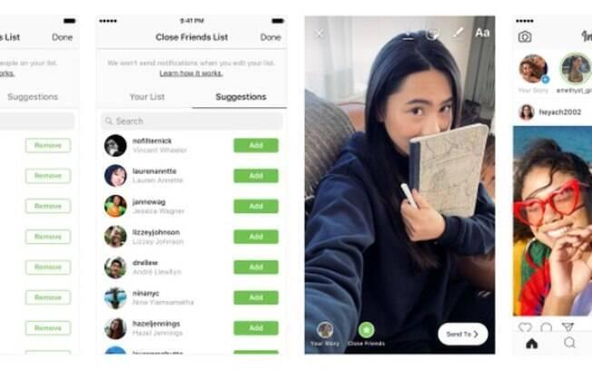 Instagram lançou a função 'Close Friends' para enviar stories a grupos reduzidos de pessoas