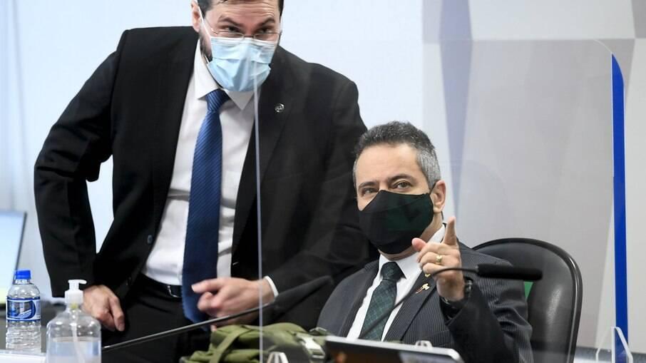 Ex-secretário da saúde Élcio Franco depõe à CPI da Covid