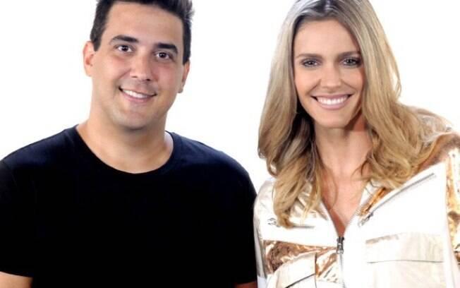 André Marques e Fernanda Lima