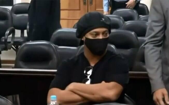 Ronaldinho na audiência