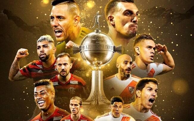 Final da Libertadores entre Flamengo e River Plate
