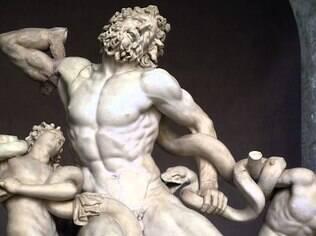 ''Laocoonte e Seus Filhos'' é uma escultura do período helenístico da Grécia antiga