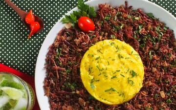 Arroz, carnes, frango e aves, massas, molhos, peixes e fruto do mar, tortas e vegetariano