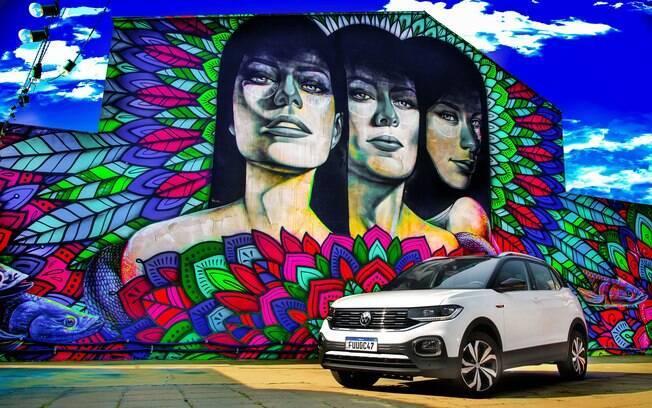 VW T-Cross 2021: SUV agora vem com a mesma centra VW Play que equipa do Nivus em todas as versões