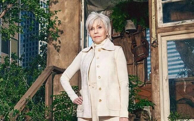 Jane Fonda fala sobre a vida sexual, carreira e política