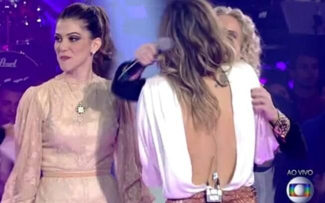 0bbaa78cc Anitta exibe decote profundo em premiação - Gente - iG