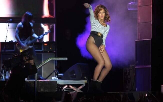 Rihanna: fracasso de público em SP