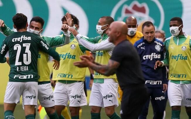 Palmeiras tem 7 desfalques para partida