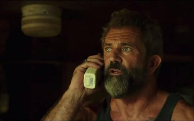 Mel Gibson em cena de