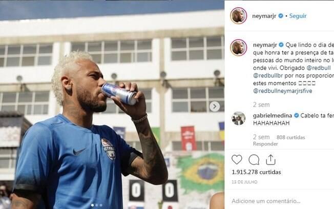 Neymar no Instagram