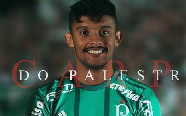 Palmeiras oficializou a contratação de Gustavo Scarpa