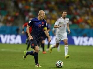 Holanda deu um show na Espanha no duelo do Mundial
