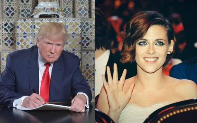 Kristen Stewart fala sobre Donald Trump