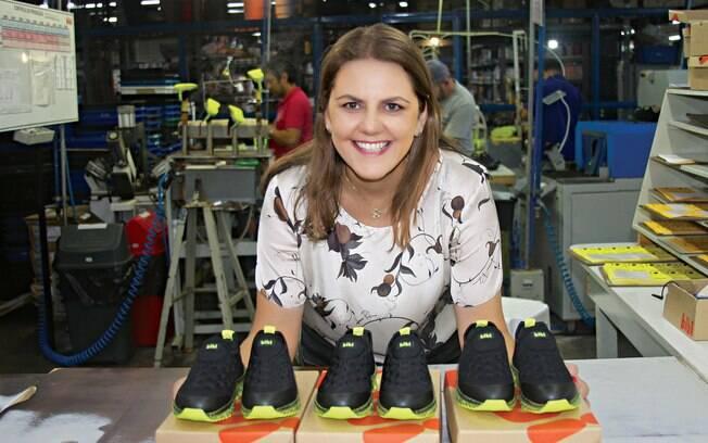 Andrea Kohlrausch se tornou presidente da Bibi e se divide entre a maternidade e a gestão da empresa