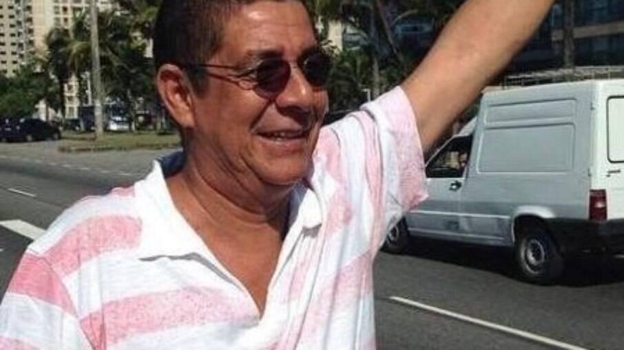 Zeca Pagodinho fez a alegria do hospital