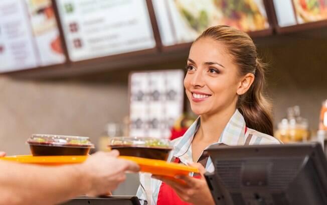 Restaurantes fast-food no estilo