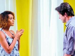 Dupla. Parceira de Murilo Benício em cena, Taís Araújo consegue segurar o elenco feminino da trama