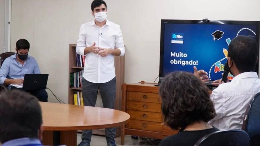 Renan Ferreirinha, secretário de educação vinha estudando medidas para tirar do papel a migração e a convocação de novos educadores