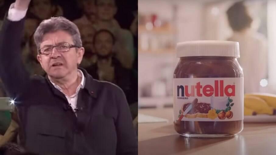 Jean-Luc Mélenchon e Nutella