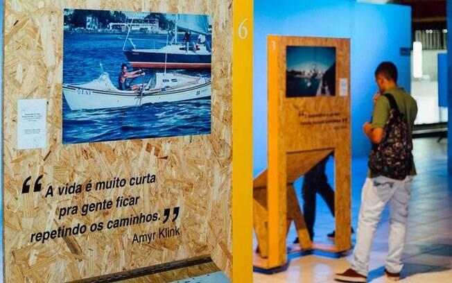 Tietê Plaza Shopping recebe exposição fotográfica e palestra gratuita com Amyr Klink