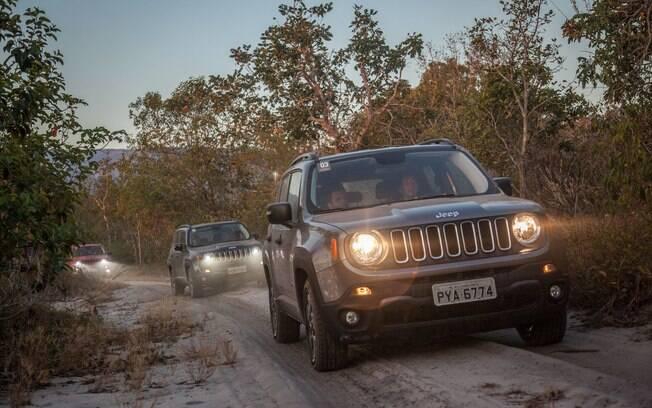 Jeep Experience, na Chapada dos Guimarães, no Mato Grosso, teve trilhas e belas paisagens a bordo de modelos 4x4